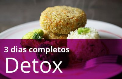 Kit 3 Dias Detox (todas as refeições)