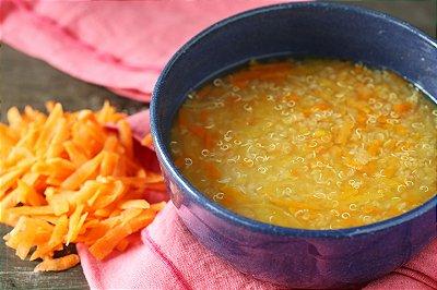 Sopa de Quinua com Legumes