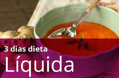 Kit 3 Dias Dieta Líquida
