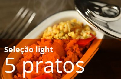 Kit 5 Pratos Light