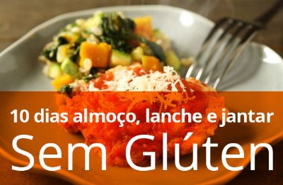 Kit 10 Dias Almoço e Jantar light (sem glúten)