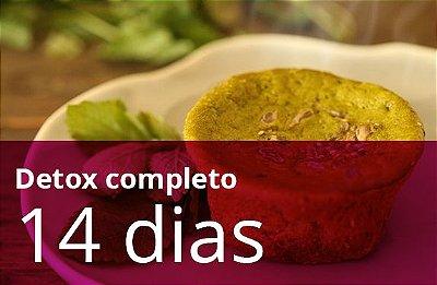 Kit 14 dias detox (TODAS AS REFEIÇÕES) sem glúten e sem leite
