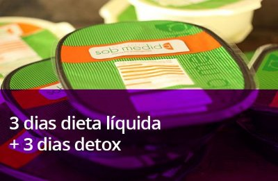 3 Dias Dieta Líquida + 3 Dias Detox