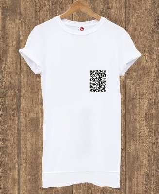 Camiseta Alongada Basic White