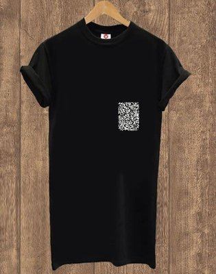 Camiseta Alongada Basic Black