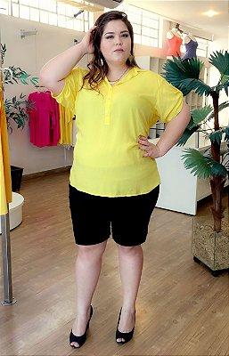Camisa Casual Plus Size