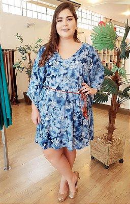 Vestido Cloe Blue Plus Size