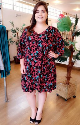Vestido Cloe Red Plus Size