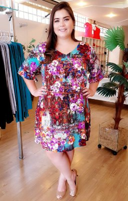 Vestido Gleen Plus Size