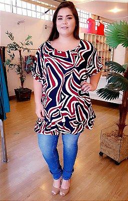 Blusa Long Sweet Plus Size