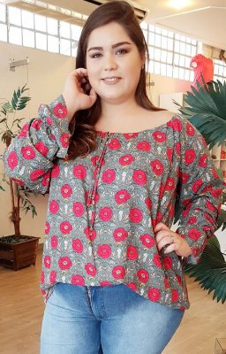 Blusa Nature Plus Size
