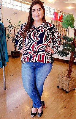 Look Completo (Camisa Scarllet + Calça Jeans)