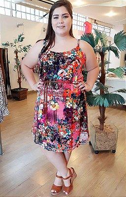 Vestido de Alcinha Gloss Floral