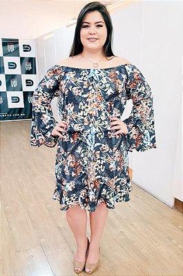 Vestido Maxxi Encanto Plus Size (com Forro)