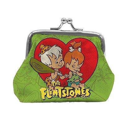 Porta Moedas PVC HB Flintstones Peeble And BamBam