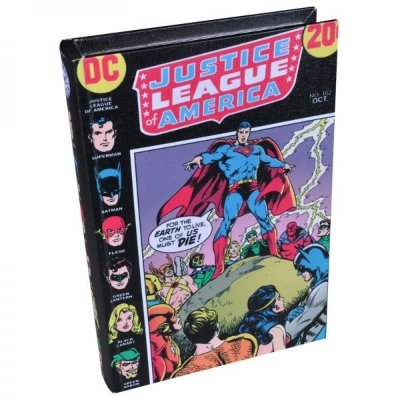Caixa Livro - Liga da Justiça
