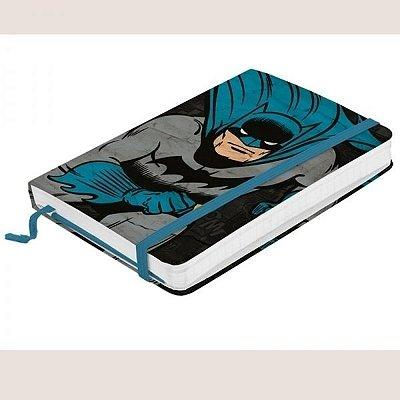 Caderneta de Anotação Batman Running  FD Azul
