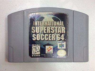 Internacional Superstar Soccer - Nintendo 64 -N64