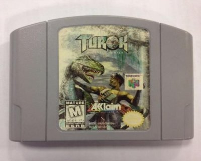 Turok Dinosaur Hunter Original Nintendo 64