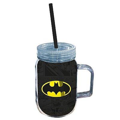 Copo Jarra Batman Logo