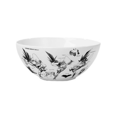 Bowls Porcelana DC Preto e Branco
