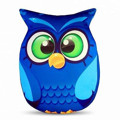 Almofada Coruja Azul