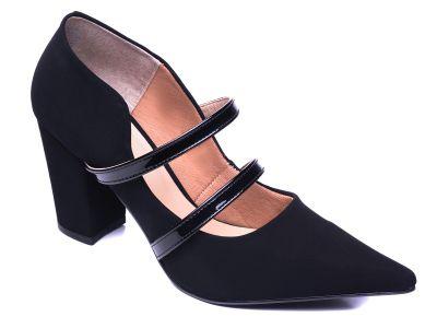 Sapato Scarpin Napa Preto