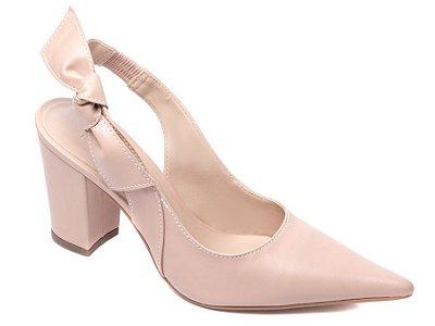 Sapato Scarpin Napa Rosê