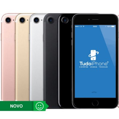 iPhone 7 - 128GB - Novo - 1 Ano de Garantia Apple