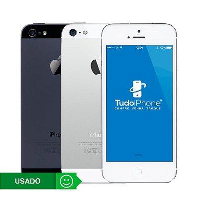 iPhone 5 - 16GB - Usado - 3 Meses de Garantia TudoiPhone