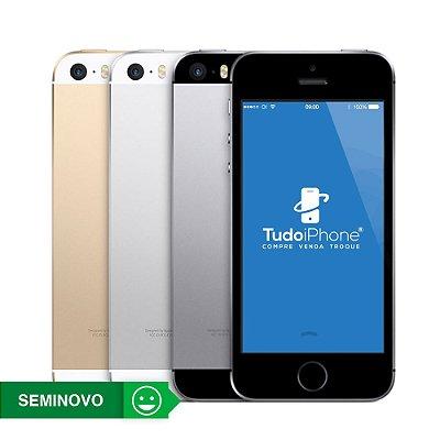 iPhone 5s Anatel - 16GB - Seminovo - 3 Meses de Garantia TudoiPhone