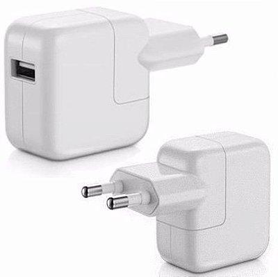 Tomada Fonte USB Bivolt 10/12W para iPhone 4/4s e iPads