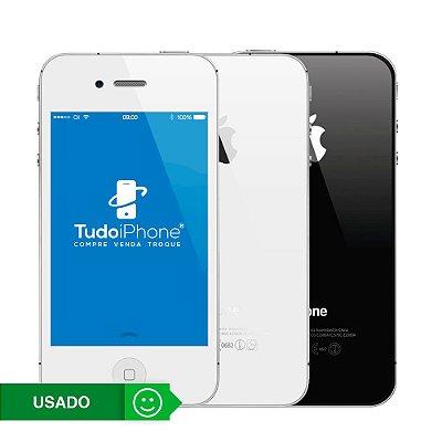 iPhone 4s - 16GB - Usado - 3 Meses de Garantia TudoiPhone
