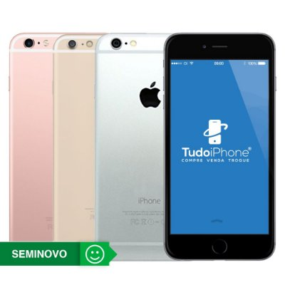 iPhone 6s - 128GB - Seminovo - 1 Ano de Garantia TudoiPhone