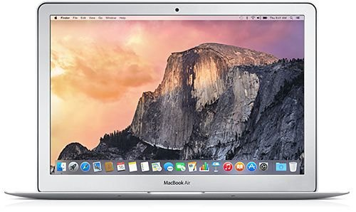 "Macbook Air 13"" 2013 - Intel Core i5 1,4 GHZ -  4GB Ram - 128GB SSD Flash Intel HD Graphics 5000 1536 MB - Usado"