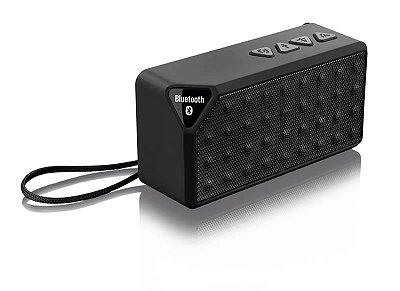 Caixa De Som Multilaser Bluetooth 8w Rms Micro Sd