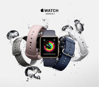 Apple Watch Series 2 Alumínio -  42mm - Novo - 1 Ano de Garantia Apple