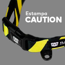 Estampa Caution