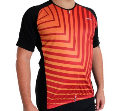 Camisa Masculina Ciclismo Fire Comfort Premium Monaro