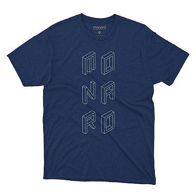 Camiseta MONARO blocos 100% Poliamida