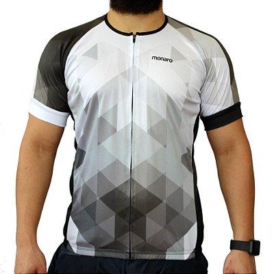 Camisa Masculina Geometric Comfort Classic Ciclismo Monaro