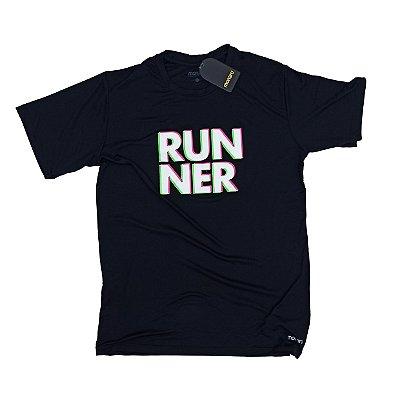 Camiseta Poliamida Esporte Premium Runner 3D Monaro