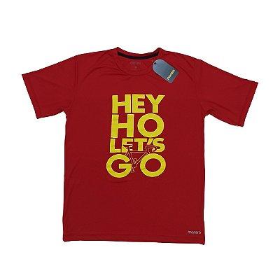 Camiseta Poliamida Esporte Running Hey Ho Monaro