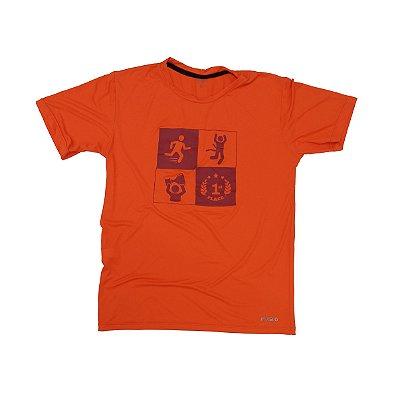 Camiseta Poliamida Esporte Running Quadros Monaro