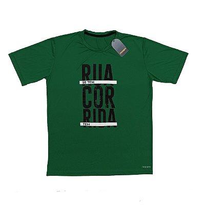 Camiseta Poliamida Esporte Running Se Tem Rua Monaro