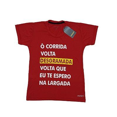 Baby Look Poliamida Esporte Running Ô Corrida Monaro