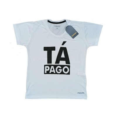 Baby Look Poliamida Esporte Running Tá Pago Monaro