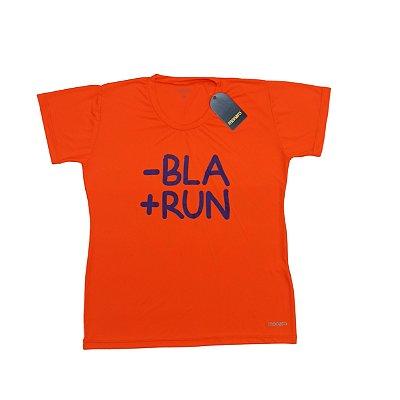Baby Look Poliamida Esporte Running Menos Bla Mais Run Monaro