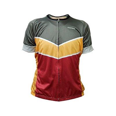 Camisa Jersey Masculina Iron Comfort Classic Ciclismo Monaro