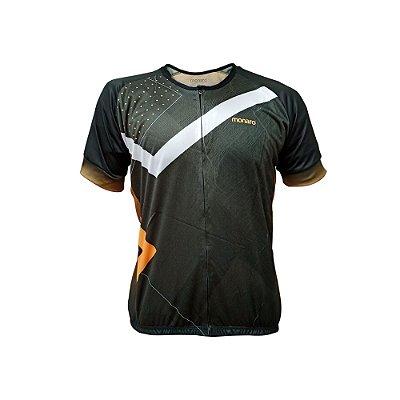 Camisa Jersey Masculina Abstract Comfort Classic Ciclismo Monaro